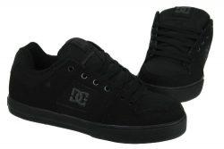 DC Men's Pure Skate Shoe, Black/Pirate Black, 9.5 M US