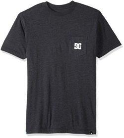 DC Men's Solo Star 2 Short Sleeve T-Shirt, Black, Medium