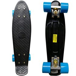 RIMABLE Complete 22″ Skateboard BlackBlue