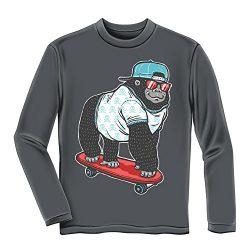 Gorilla Skateboarding Youth Longsleeve Tee Shirt (Small 6/7)