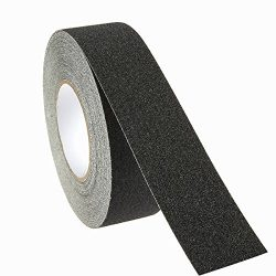 Non-Skid Tape – 1-Roll Anti Slip Tape, Heavy Duty Abrasive Weatherproof Grip Tape Ideal for Stai ...