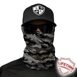 Salt Armour Face Mask Shield Protective Balaclava Bandana MicroFiber Tube Neck Warmer – Gr ...