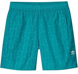 adidas Originals Men's Skateboarding Resort Shorts, Shock Green, S