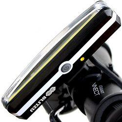 BLITZU Cyborg 168H USB Rechargeable Headlight SUPER BRIGHT Bike Light – Helmet Front Light ...