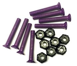 Everland 1.25″ Hardware Screws (Purple)