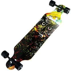 Atom Longboards Atom Drop Through Longboard – 40″ , Owl