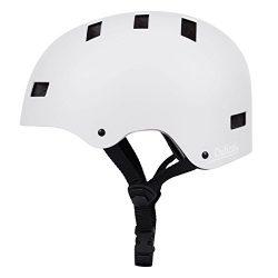 Critical Cycles Classic Commuter Bike/Skate/Multi-Sport CM-1 Helmet with 10 Vents, Matte White,  ...