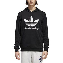 adidas Skateboarding Men's Clima 3.0 Hoodie Black/White 3 Small