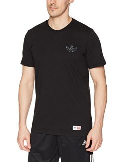 adidas Originals Men's Skateboarding Mhak Short Sleeve Tee, Black, M
