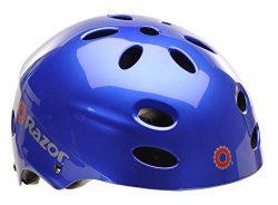 Razor V-17 Youth Muli-Sport Helmet, Gloss Blue