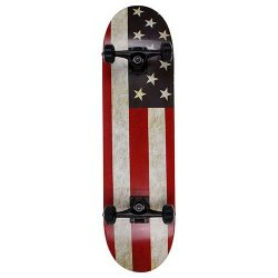 NPET Pro Skateboard Complete 31 Inch 7 Layer Canadian Maple Double Kick Concave Deck Skating Ska ...