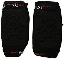 Triple Eight ExoSkin Knee Pad (Black, Small)