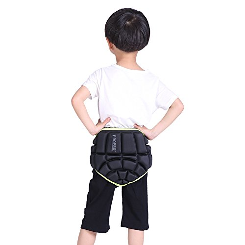 8fb5a8631a0 Uboway Kids 3D Padded Hip Protective Shorts Butt Paded Short Pants for  Skiing
