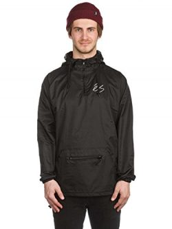 Es Skateboard Coat Packable Anorak Black Size L