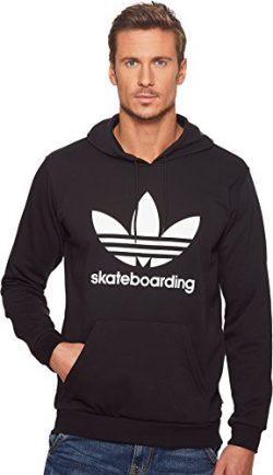 adidas Skateboarding Men's Clima 3.0 Hoodie Black/White 3 XX-Large