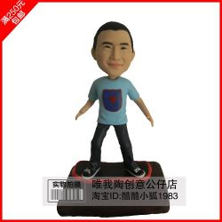 Custom character mode handmade customized from person photo making figure model Real doll polyme ...
