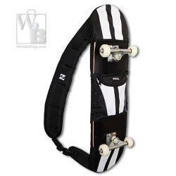 Ozel Black Racer Skateboard Backpack