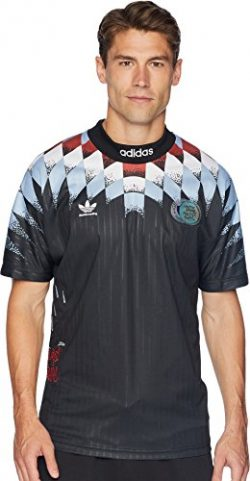 adidas Skateboarding Men's Silvas Jersey Black/White X-Large