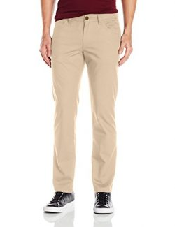adidas Originals Men's Skateboarding 5 Pocket Twill Pant, Cargo Khaki, 34W X 32L