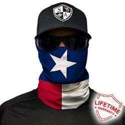 SA Company Face Shield Micro Fiber Protect From Wind, Dirt and Bugs. Worn as a Balaclava, Neck G ...