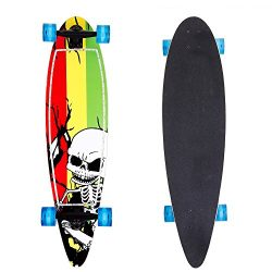 ANCHEER Pintail Cruiser Longboard Complete Long Skateboard 40×10 Inch for Boys Girls and Adult