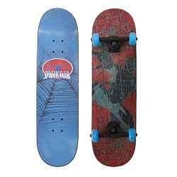PlayWheels Ultimate Spider-Man 28″ Skateboard, Web Flyer