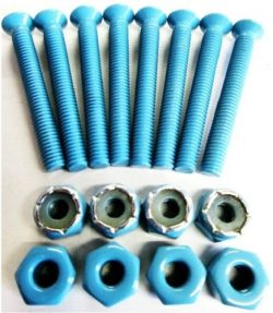 Everland 1.5″ Skateboard Hardware Screws (Baby Blue)