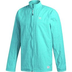 adidas Originals Men's Skateboarding Rclaire Jacket, Shock Green, 2XL