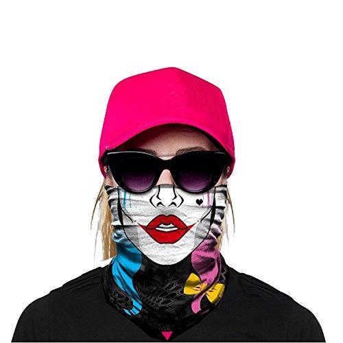 OUYZY Neck Gaiter, Headwear, Face Sun Mask, Magic Scarf