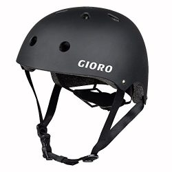 GIORO Skateboard Helmet Impact Resistance Safe Helmet with Ventilation Multi Sport for BMX Bike  ...