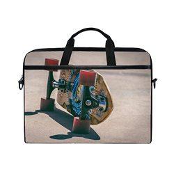 Rh Studio Laptop Bag Skateboard Wheels Board Laptop Shoulder Messenger Bag Case Sleeve For 14 In ...