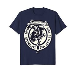 Mens Skateboarding Tshirt skater Men Women-Skateboard XL Navy
