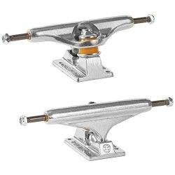 Independent Skateboard Trucks Stage 11 Bar Cross Set Of 2 Trucks (Polished Silver, 139mm)