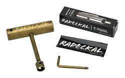 Radeckal Compact Pocket Skate Tool- T Tool All in One Skate Tool for Skateboards, Longboards, Mi ...