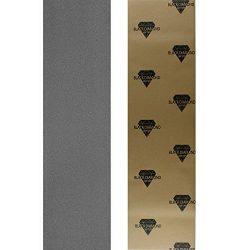 Black Diamond Longboard Skateboard Grip Tape Sheet (grey)