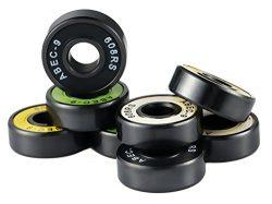 608 Bearing Skateboard Deck Skidding Spinner Bearing,ABEC-9 Precision Speed Bearing, Ceramic Hyb ...