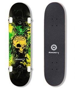 MINORITY 32inch Maple skateboard (Pineskull)