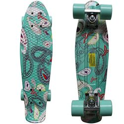 RIMABLE Complete 22″ Skateboard OceanWorld