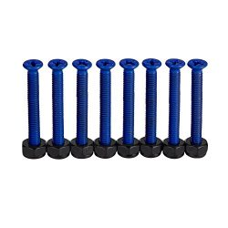 Cal 7 Standard 1.50″ Blue Skateboard Hardware Set