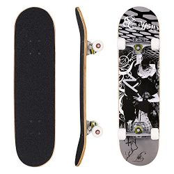 dongchuan Skateboar-Profession | Wood Concave Double Kick Complete Skate Board for Beginner