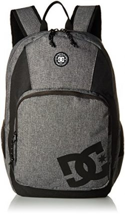 DC Men's the Locker, Heather Charcoal, 1SZ
