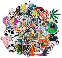 Advgears 100pcs Cartoon Stickers Car Motorcycle Bicycle Skateboard Laptop Luggage Vinyl Sticker  ...
