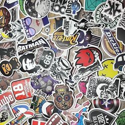 "Custom & Decorative {2.4″ to 5"" Inch} 100 Bulk Pack of Jumbo Size Stickers for Arts, C ..."