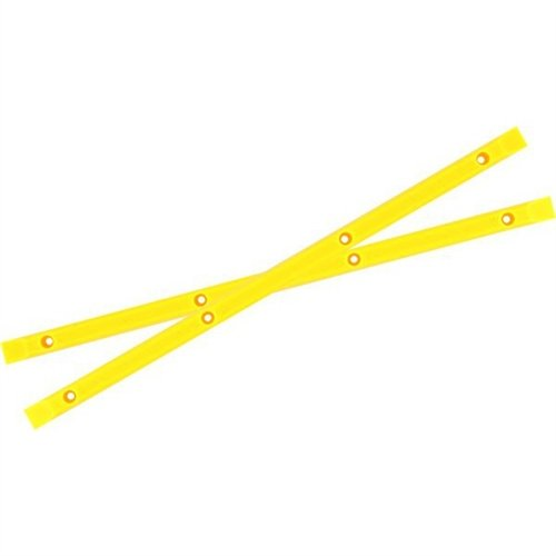 Yocaher Neon Yellow Skateboard Rails by Yocaher