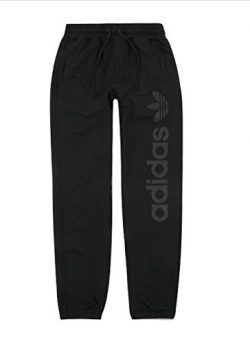 adidas Originals Men's Skateboarding Blackbird Sweatpants, Black, M