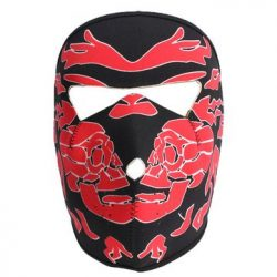 Motorcycle Face Mask – Mask Motorcycle Reversible Biker Skateboard Scary Sports Neoprene & ...