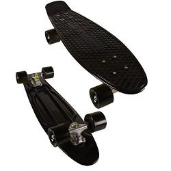 MoBoard Graphic Complete Skateboard | Pro/Beginner | 22 inch Classic Style Mini Cruiser Board wi ...