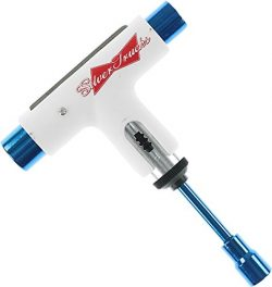 Silver Trucks Lager Series White / Blue Multi-Purpose Skate Tool