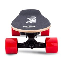 Fitnessclub Electric Fishboard – Motorized Electric Standard Skateboard with Wireless Remo ...