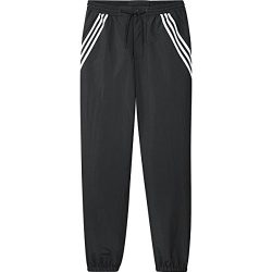 adidas Originals Men's Skateboarding Workshop Pants, Black/White, 2XL